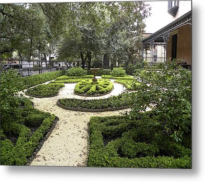 Garden Design Metal Print by Kim Zwick