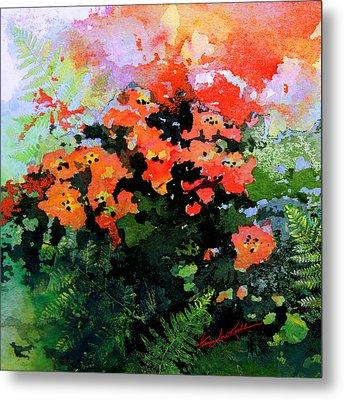 Garden Impressions Metal Print by Hanne Lore Koehler