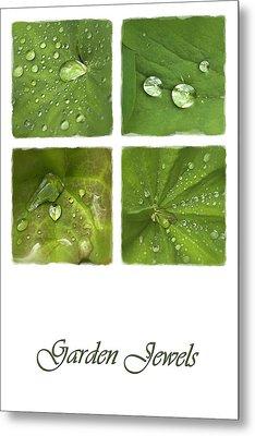 Garden Jewels Metal Print