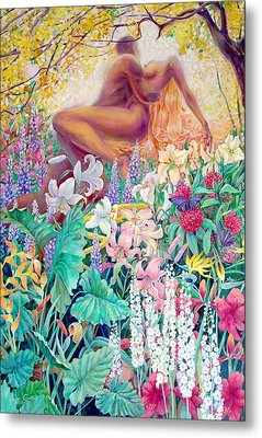 Garden Of Eden Metal Print by SvetLana Grecova