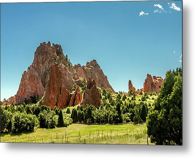 Metal Print featuring the photograph Garden Of The Gods II by Bill Gallagher