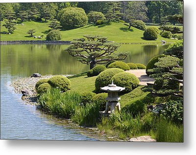 Garden Of Three Islands Metal Print