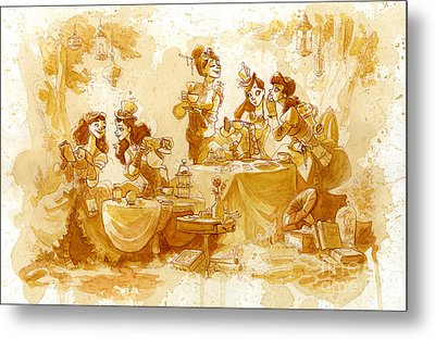 Garden Party Metal Print by Brian Kesinger