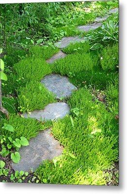 Garden Path Metal Print by Idaho Scenic Images Linda Lantzy