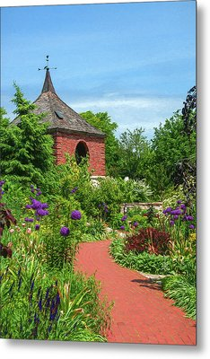 Garden Path Metal Print by Trey Foerster
