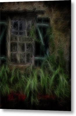Garden Window 2 Metal Print by William Horden