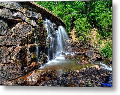 Metal Print featuring the photograph Garland Falls I by Greg DeBeck