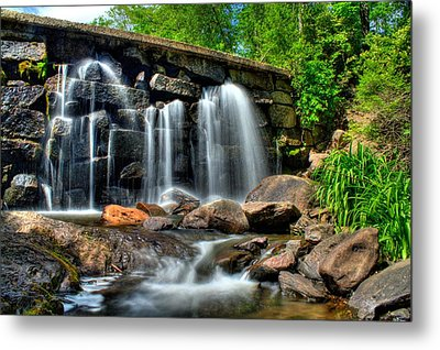 Metal Print featuring the photograph Garland Falls II by Greg DeBeck