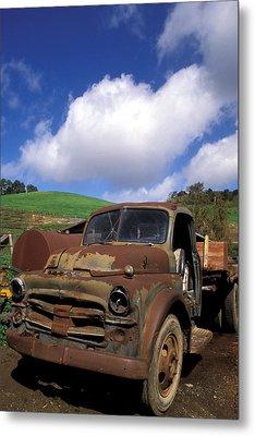 Garrod's Old Truck Metal Print by Kathy Yates