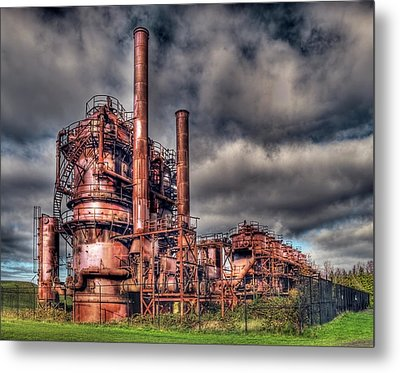 Gas Works Park - Seattle Metal Print by Greg Sigrist