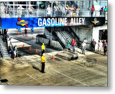 Gasoline Alley Metal Print