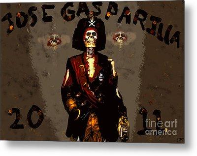 Gasparilla 2011 Metal Print by David Lee Thompson