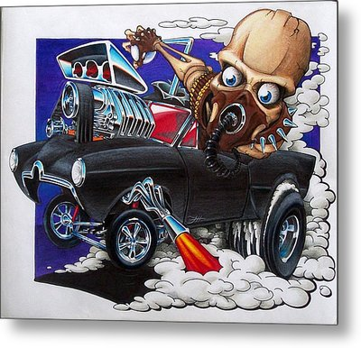 Gasser Metal Print by Jason Hunt
