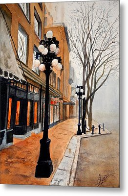 Gastown, Vancouver Metal Print by Sher Nasser