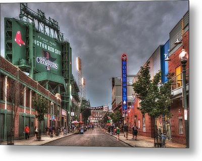 Gate E - Fenway Park Boston Metal Print