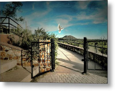 Gate To The Martyrs Metal Print by Diana Angstadt