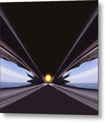 Interstellar Overdrive Metal Print by Daniel Furon