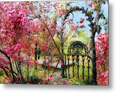 Gate To Eternity Metal Print by Bonnie Barry