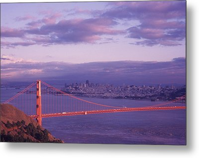Gate To Frisco Metal Print by Gerard Fritz