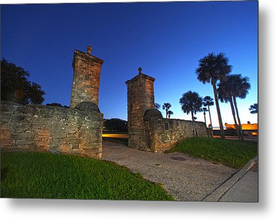 Gates Of The City Metal Print