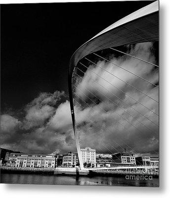 Gateshead Millenium Bridge Metal Print