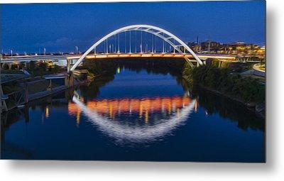 Gateway Bridge - Nashville Metal Print by Stephen Stookey