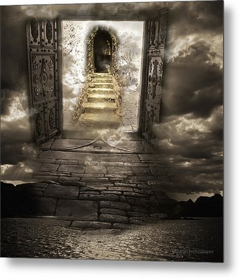 Gateway To Heaven Metal Print by Andy Frasheski