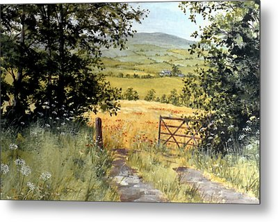 Gateway To The Vale Metal Print by Stuart Parnell