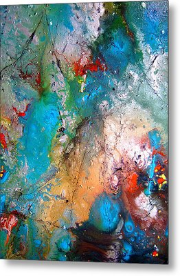 Gathering Metal Print by Pearlie Taylor
