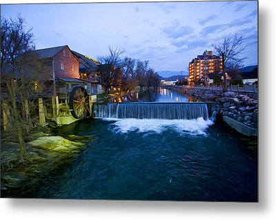 Gatlinburg Mill Metal Print by Paul Bartoszek