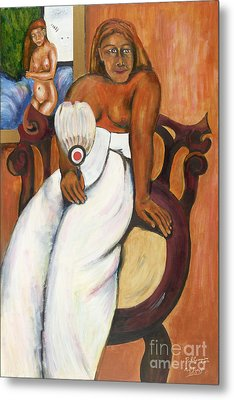 Gauguin Foregrounded Metal Print by Neil Trapp