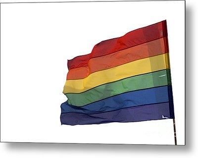 Gay Rainbow Flag  Metal Print