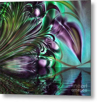Gaze Metal Print by Mindy Sommers