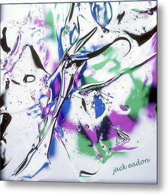 Gel Art #12 Metal Print by Jack Eadon