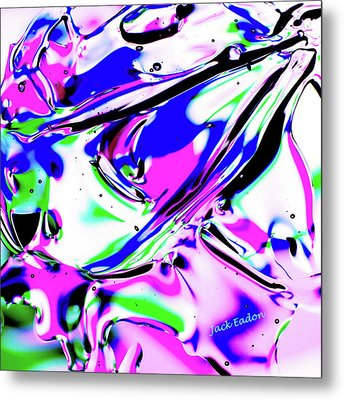 Gel Art#18 Metal Print by Jack Eadon