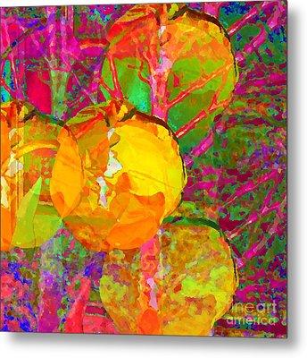 Gelbe Tulpen Metal Print