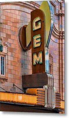 Gem Theater In Kansas City Metal Print