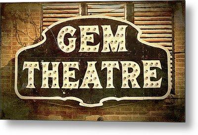 Gem Theatre Metal Print by Stephen Stookey