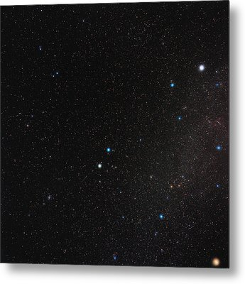 Gemini Constellation Metal Print by Eckhard Slawik