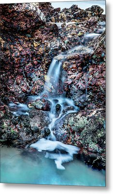 Metal Print featuring the photograph Gemstone Falls by Az Jackson