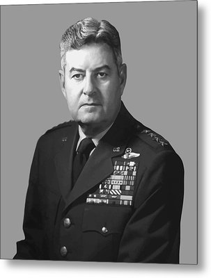 General Curtis Lemay Metal Print
