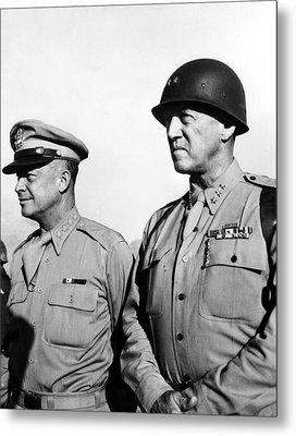 General Dwight Eisenhower, General Metal Print