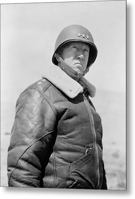 General George S. Patton Metal Print