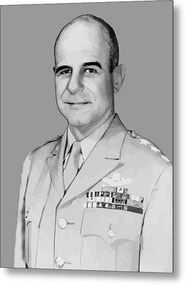 General James Doolittle Metal Print by War Is Hell Store