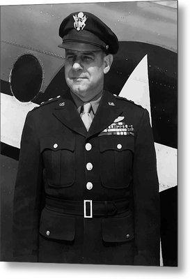 General Jimmy Doolittle Metal Print by War Is Hell Store