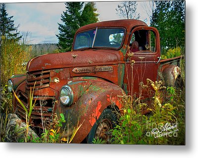 Metal Print featuring the photograph General Motors Truck by Alana Ranney