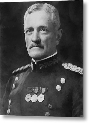 General Pershing Metal Print by War Is Hell Store