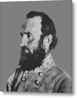 General Stonewall Jackson Metal Print