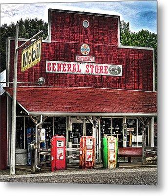 General Store Cataract In. Metal Print
