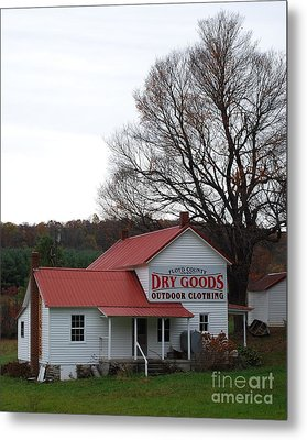 Metal Print featuring the photograph General Store by Eric Liller